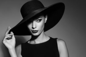 Sexy Lady With Hat